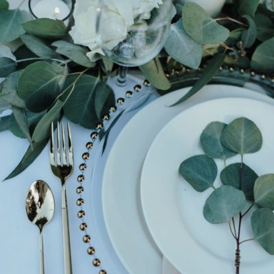 Gold Flatware Set (3 piece set)