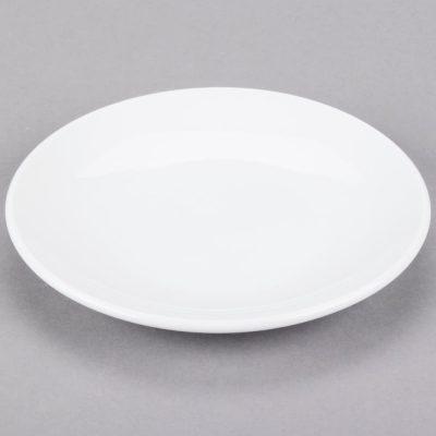 Classic Bright White Dessert Plates