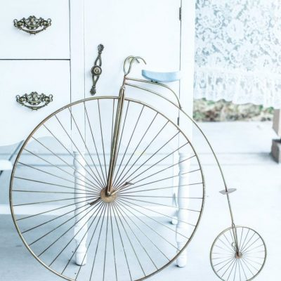 Metal High Wheel Bicycle
