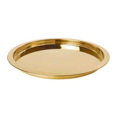 Gold Round Platter